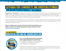 Leitfaden Plastic Pirates - Go Europe!